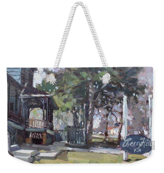 Cherry Hill Pub Weekender Tote Bag