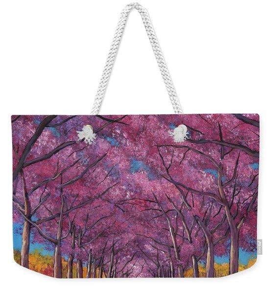 Cherry Lane Weekender Tote Bag