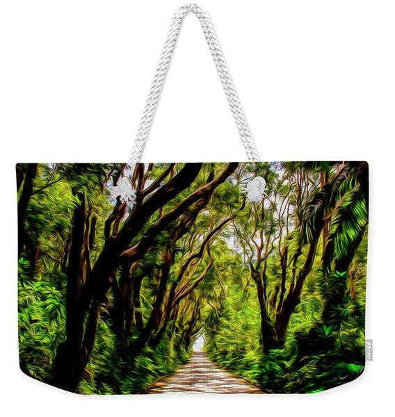 Cherry Tree Hill Weekender Tote Bag