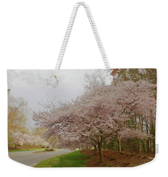 Cherry Trees On Canon Blvd Weekender Tote Bag