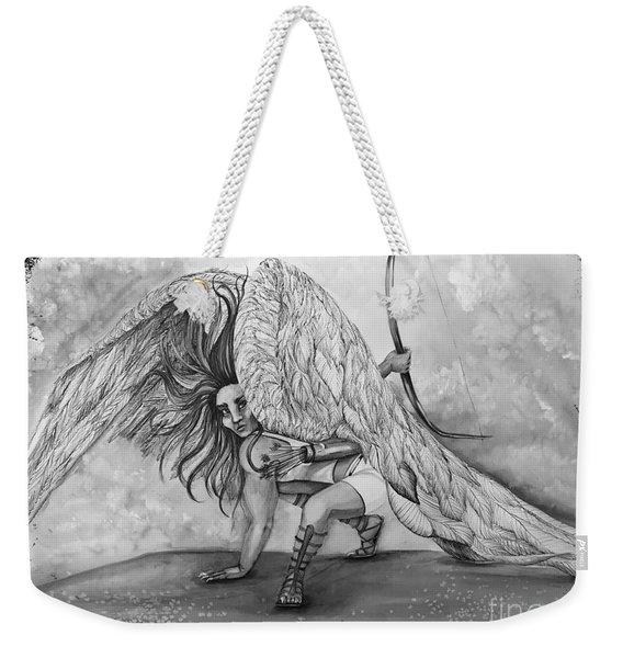 Cherubim Digital Edit Weekender Tote Bag