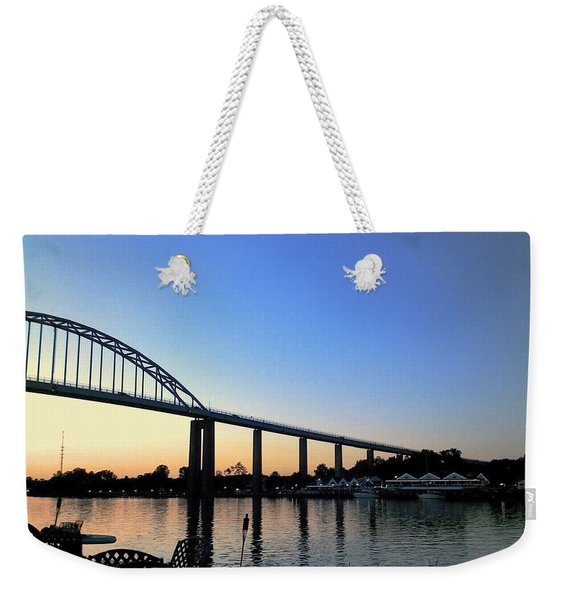 Chesapeake City Weekender Tote Bag