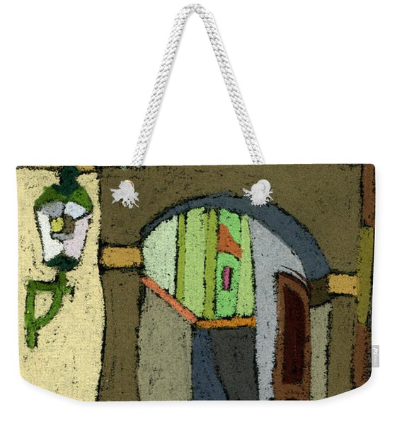 Chesky Krumlov Old Street Latran  Weekender Tote Bag