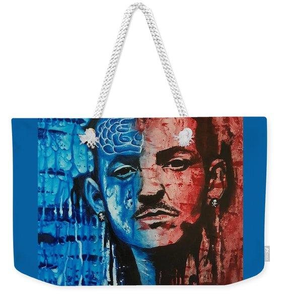 Heavy Thoughts Weekender Tote Bag