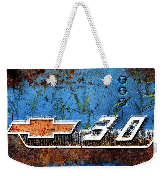 Chevy 3.0 Photomontage Weekender Tote Bag