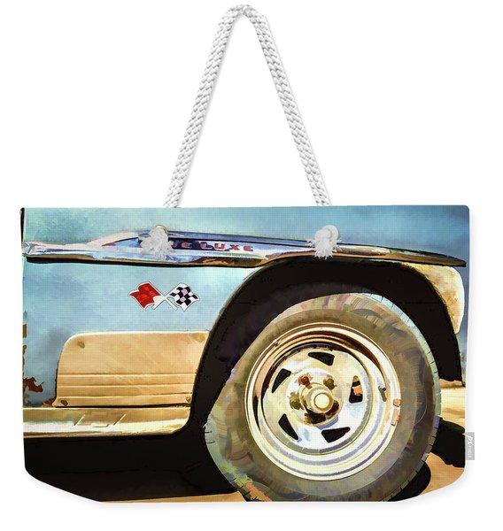 Chevy Deluxe Weekender Tote Bag