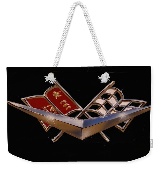 Chevy Flags  Weekender Tote Bag