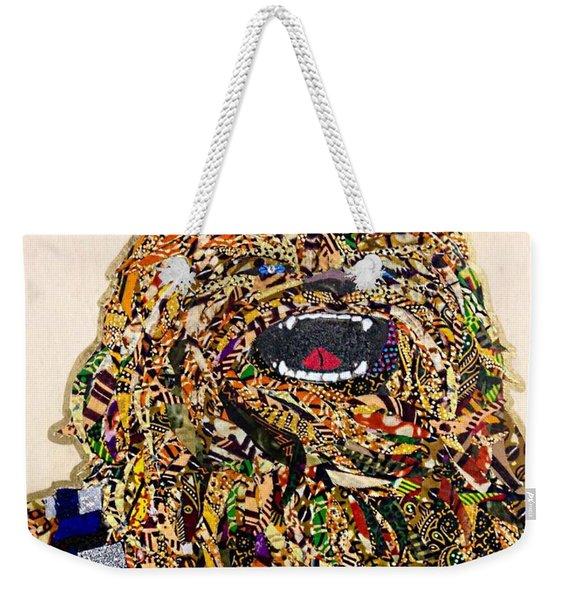 Chewbacca Star Wars Awakens Afrofuturist Collection Weekender Tote Bag