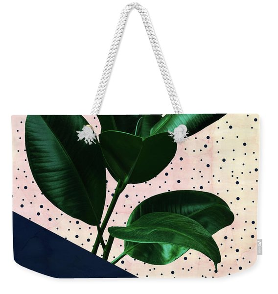 Chic Jungle Weekender Tote Bag