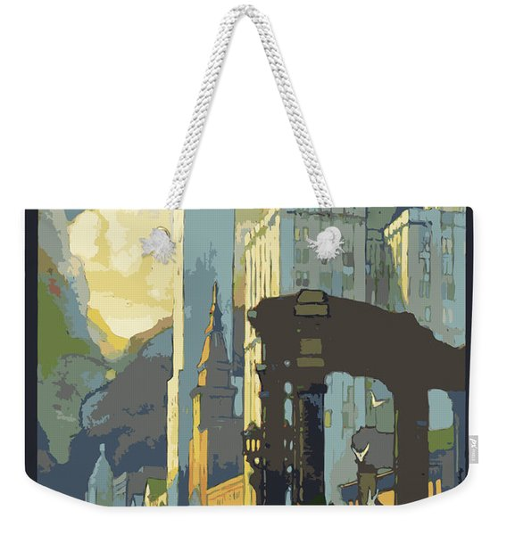 Chicago, Big City Weekender Tote Bag
