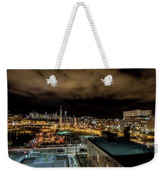Chicago City And Skyline Weekender Tote Bag