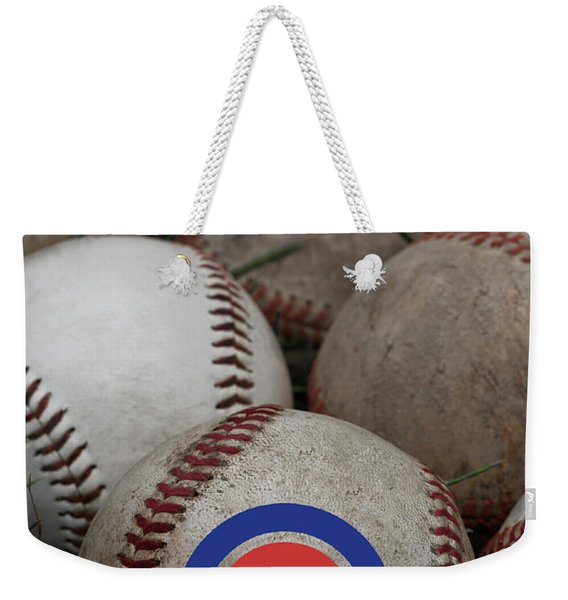 Chicago Cubs World Series Poster Weekender Tote Bag