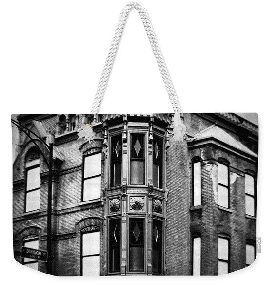 Chicago Historic Corner Weekender Tote Bag
