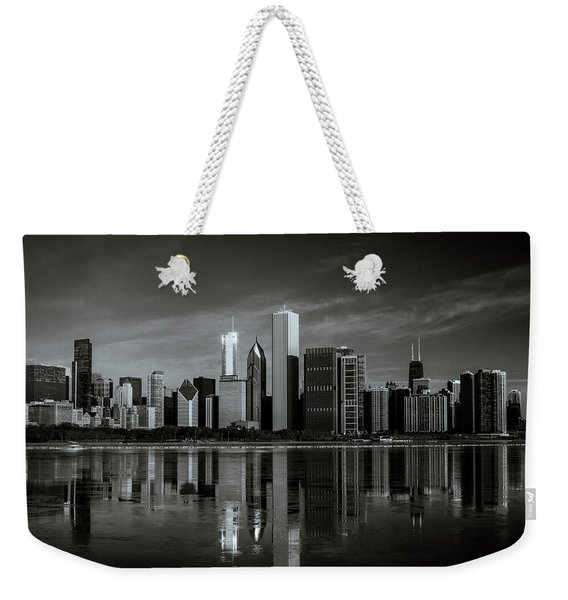 Chicago Lake Front Weekender Tote Bag