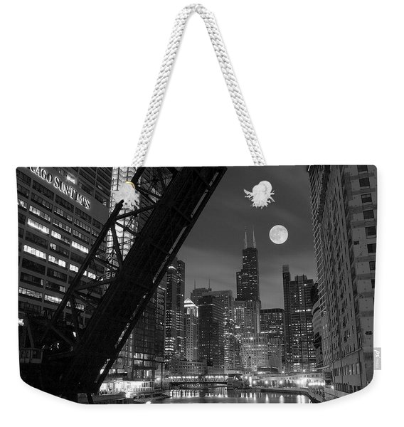Chicago Pride Of Illinois Weekender Tote Bag