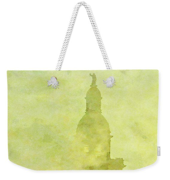 Chicago Steeple Weekender Tote Bag