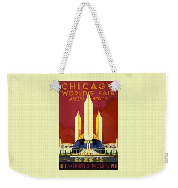 Chicago World's Fair - 1933 Weekender Tote Bag