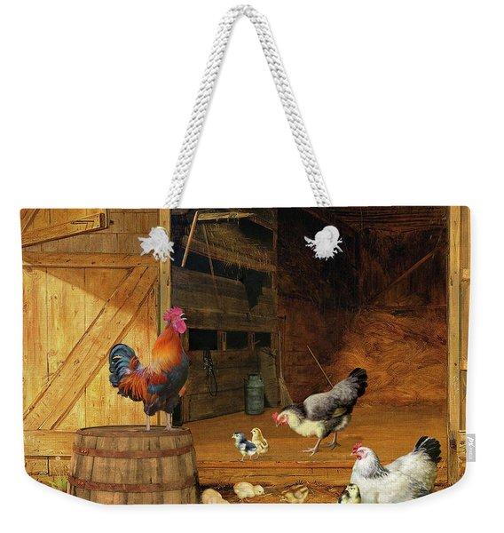 Chickens Weekender Tote Bag