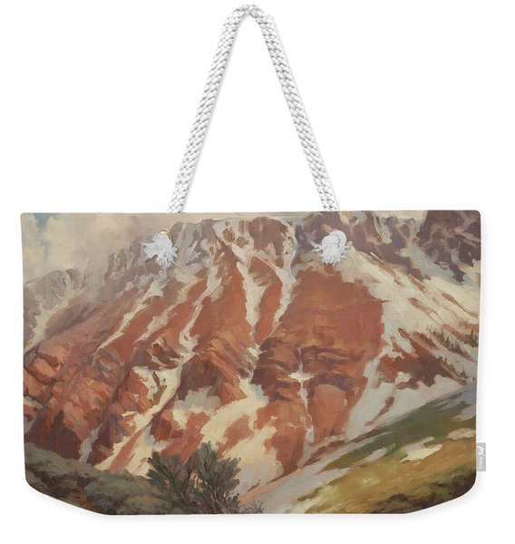 Chief Joseph Mountain Weekender Tote Bag
