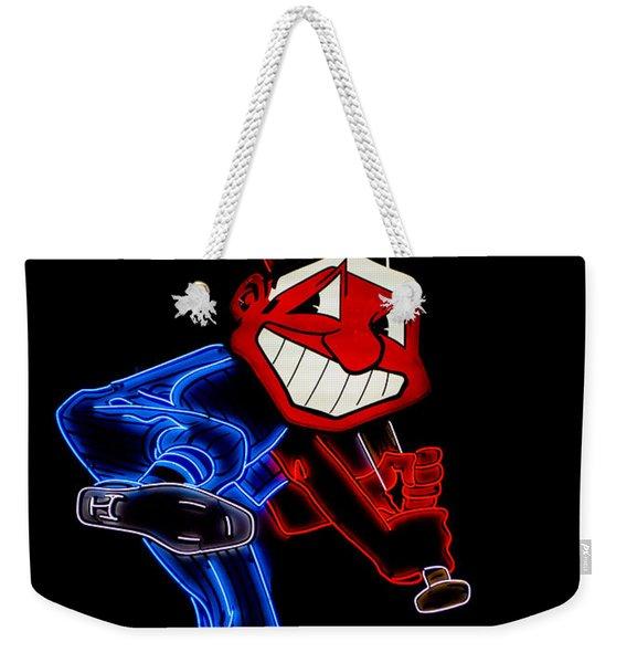 Chief Wahoo Weekender Tote Bag