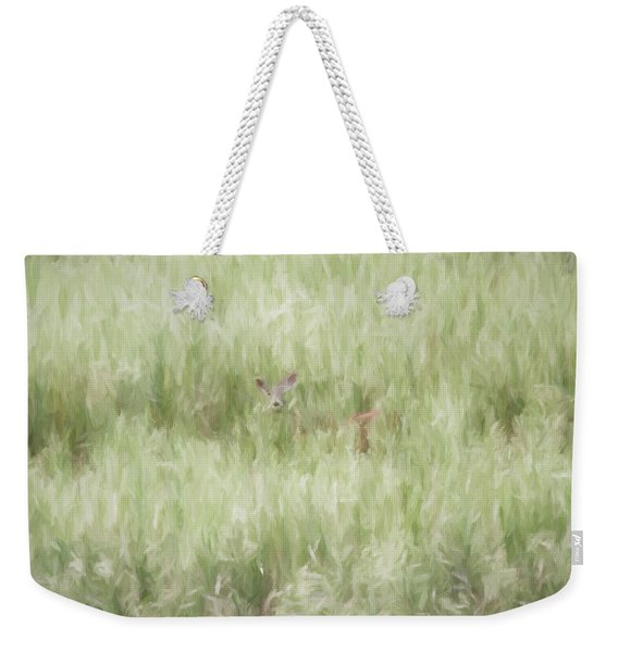 Child Of The Meadows Weekender Tote Bag