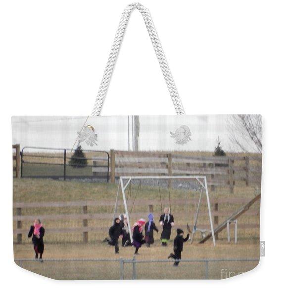 Childhood Joy Weekender Tote Bag