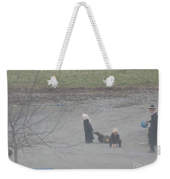 Children At Play Weekender Tote Bag