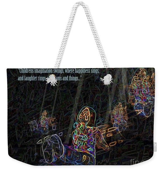 Childrens Verse Weekender Tote Bag