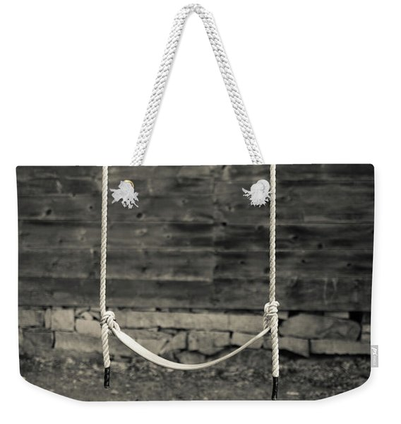 Child's Swing On An Old Farm Weekender Tote Bag