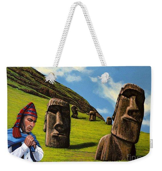 Chile Easter Island Weekender Tote Bag