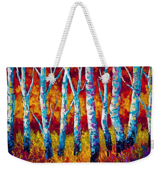 Chill In The Air Weekender Tote Bag