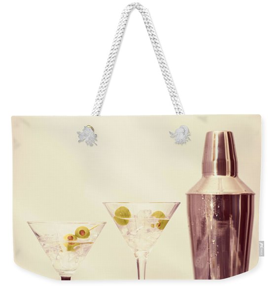 Chilled Martinis Weekender Tote Bag
