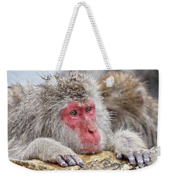 Chilling Weekender Tote Bag