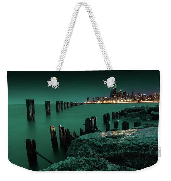 Chilly Chicago 2 Weekender Tote Bag