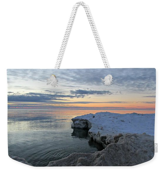 Chilly View Weekender Tote Bag