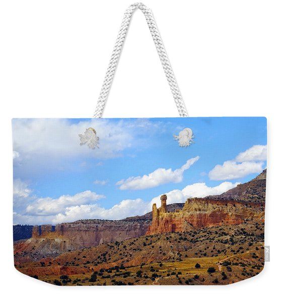 Chimney Rock Ghost Ranch New Mexico Weekender Tote Bag