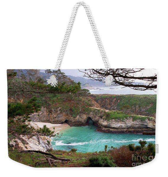 China Cove At Point Lobos Weekender Tote Bag