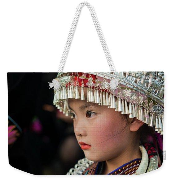 China  Doll Weekender Tote Bag