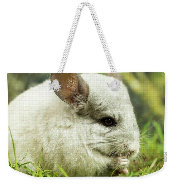 Chinchilla Weekender Tote Bag