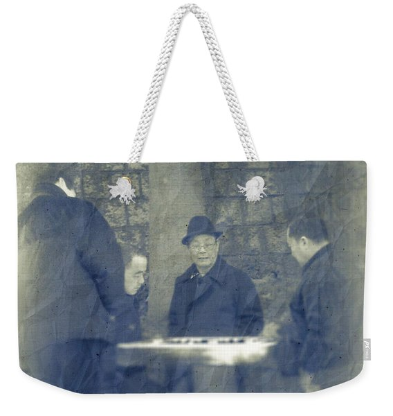 Chinese Chess Players Weekender Tote Bag