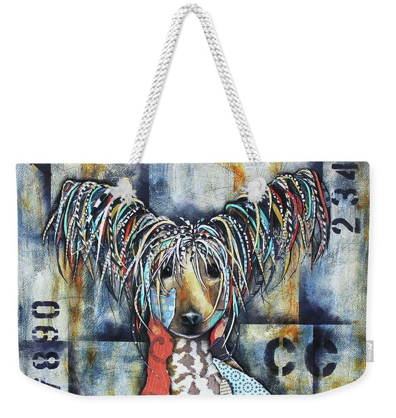 Chinese Crested Weekender Tote Bag