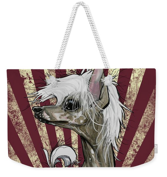 Chinese Crested Revolution Weekender Tote Bag