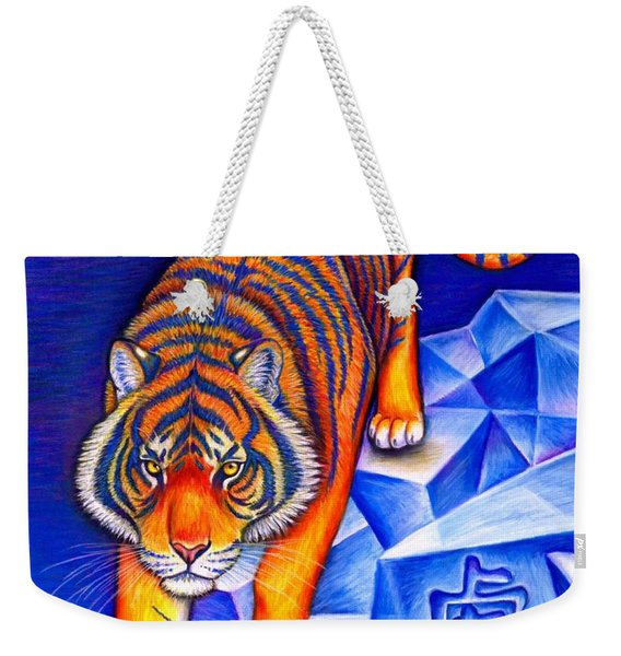 Chinese Zodiac - Year Of The Tiger Weekender Tote Bag