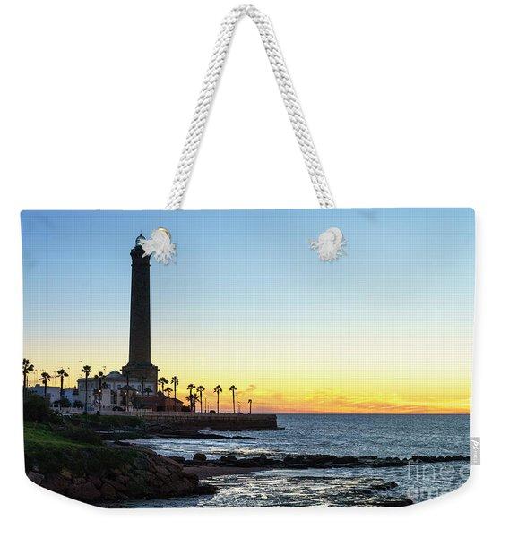 Chipiona Lighthouse Cadiz Spain Weekender Tote Bag