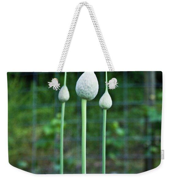 Chive Triad Weekender Tote Bag