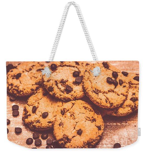 Choc Chip Biscuits Weekender Tote Bag