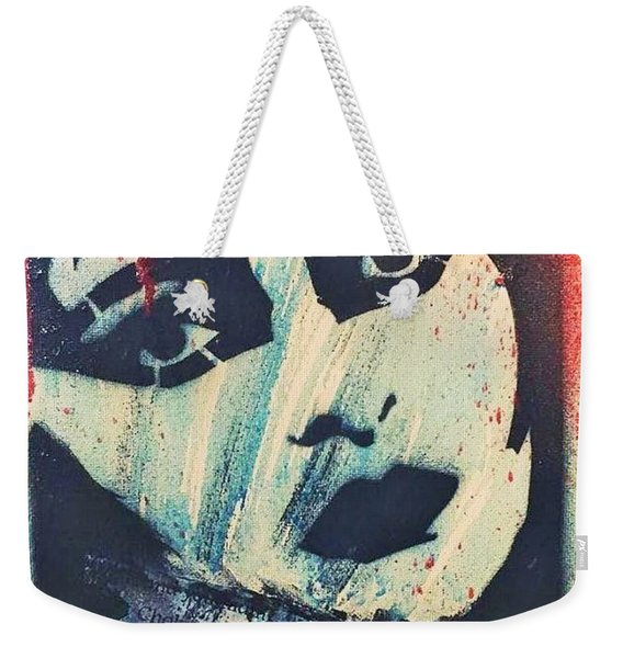 Chocking On The Dirt And Sand Weekender Tote Bag