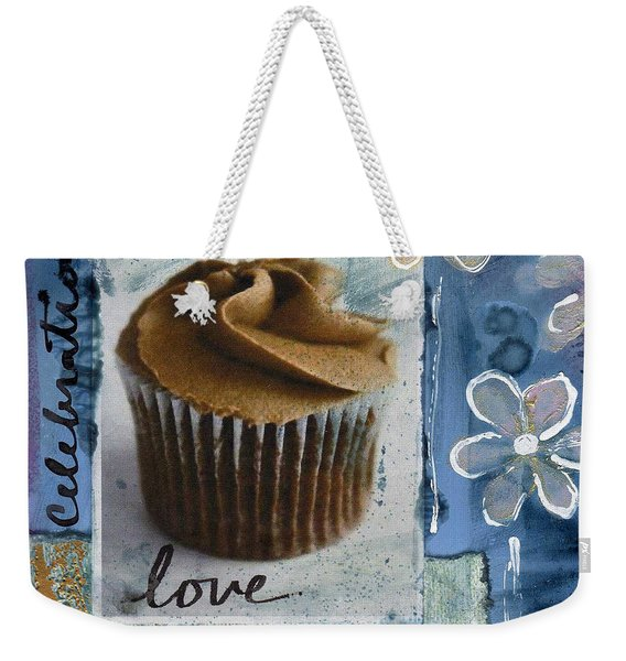 Chocolate Cupcake Love Weekender Tote Bag