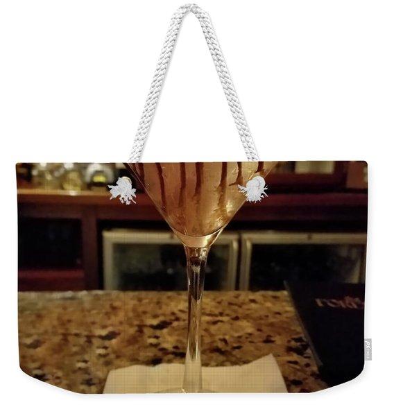 Chocolate Martini Weekender Tote Bag