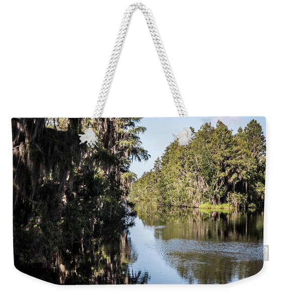 Weekender Tote Bag featuring the photograph Choices by Sally Sperry
